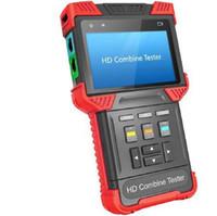 4.0 inç HD birleştirmek test cihazı ip kamera CCTV test cihazı destek analog + AHD + TVI + IPC ile POE TDR testi