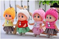 5 PCS NOUVEAUX Enfants Jouets Doux Interactive Bébé Poupées Jouet Mini Poupée Pour les filles et les garçons Livraison Gratuite