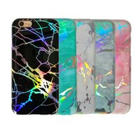 Laser Marble Design Cover Colorful Bling Sparkling Shiny Fle...