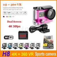H8 Ultra 4K 30fps HD 2 inch 170° 360 VR HDMI WIFI Action Cam...