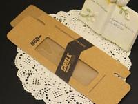 Chargeur USB Câble papier Kraft brun Emballage papier rétro pour le détail Boîtes d'emballage pour iPhone 6s Plus 6 Samsung S7 S6 Edge