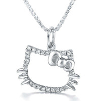 China Promotional Price Lovely 925 Sterling Silver Rhodium P...
