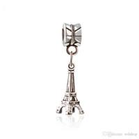 961801d960b Vintage antigo prata paris torre eiffel pingente charme pingente charme fit  pulseira jóias diy acessórios