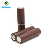 100% authentiques batteries rechargeables au lithium de la batterie HG2 3000mAh 35A de 18650 utilisant la batterie de LG pour la boîte de VW Mod Fedex Livraison gratuite