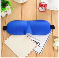 Máscara do sono 3D Viagem Resto Esponja 3D Máscara de Olho Preto Dormir Máscara de Olho Capa Para Cuidados de Saúde Para Proteger A Luz Frete Grátis