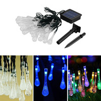 Solar lamp string 30LED string drop Christmas decorations li...
