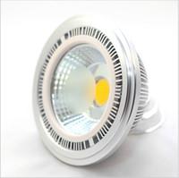All'ingrosso Prezzo di fabbrica Dimmerabile COB 15W LED AR111 Luce GU10 G53 85-265V Alti lumen Bridgelux ad alta potenza QR111 ES111 Lampada a LED