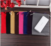 15 * 20 سنتيمتر (6 * 8 بوصة) المخملية الرباط حقيبة هدية حقيبة صالح حاملي توافد أكياس الهاتف الحقائب مجوهرات 100 قطع بالجملة