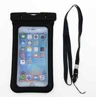 Şişme iPone Telefon su geçirmez çanta PVC Kuru Çanta Su Geçirmez kılıf iphone 7 6 6 s artı