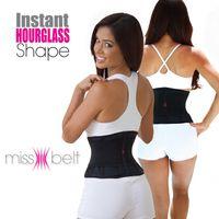 Miss Belt Ajustável Cintura Trimmer Slimming Cintura Slim Underwear Cintura Treinamento Espartilhos Cincher Pós-parto Tummy Body Shaper para ampulheta