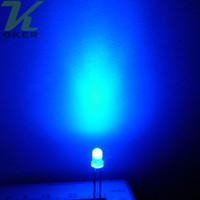 1000pcs 3mm Rosso Blu Verde Giallo diffuso LED Light Lampada led Diodi 3mm Diffuse Ultra Bright rotonda LED Light Spedizione gratuita