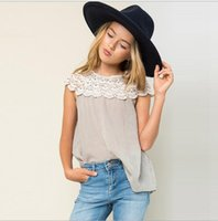 Teenagers Crochet Lace Cotton T- shirts Junior Fashion Jumper...