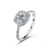 Lo más vendido 925 anillos de plata esterlina del banquete de boda con circonia cúbica anillo Fit Suit mujeres Pandora joyería fina al por mayor