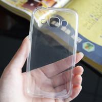 Étuis souples ultra-minces transparents POUR Samsung Galaxy Note4 Note5 Note7 On5 On7 Transparent Gel Silicone TPU Retour couverture C5 C7 Pro