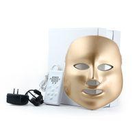가정 사용 LED 얼굴 마스크 피부 젊 어 짐 여드름 제거 LED 빛 치료 기계 3 광자 색상 DHL 무료 배송