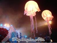 파티 / 이벤트에 대한 빛과 2m 조명 사용자 정의 색상 풍선 해파리