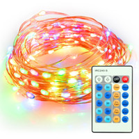 100 LEDs 33 ft Copper Wire String Light 10M Christmas Party ...