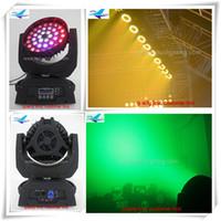 8 xlot tri-daireler Led 6 1 hareketli kafa 36x18 RGBWYP yakınlaştırma yıkama 18 w ile hareketli kafa ışık led