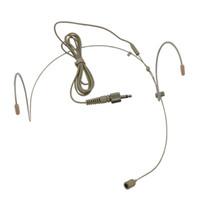 1 قطع نوعية جيدة سماعة قلبي مكثف ميكروفون ل سنهيسر الارسال اللاسلكي bodypack 3.5 ملليمتر 3.35 ملليمتر قابل