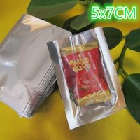 5x7cm Ping pocket, 200pieces x Open top Translucent Plating ...