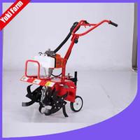 Садовые инструменты Усаживание машины Power Ciller Mini Power Weeder Рука Push Lawn Mower Power Garder Ciller
