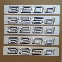 Original M Puissance M performance 320d 325d 328d 330d 350d autocollant arrière de voiture emblèmes pour BMW Série 3 F30 E90