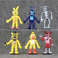 10cm 6pcs set Five Nights at Freddy' s PVC Action Figure...