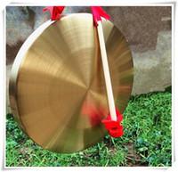 2016 Nuovo gong di passo basso con i grembiuli di martello sisals Strumenti musicali tradizionali cinesi