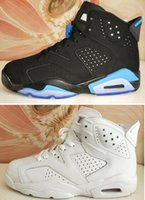 PURE MONEY WHITE 6s VI UNC 6 Black Blue 3M All white Wholesa...