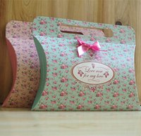 Boîte à bonbons Fournitures de bonbons Boîtes de bonbons Boîtes cadeaux de la boîte avec nœud papillon de ruban