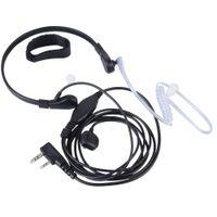 Akustische Hörmuschel Headset Mikrofon für Baofeng UV5R Puxing PX777 G00136