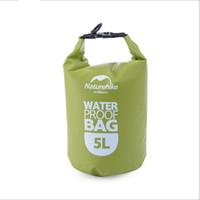 Açık hafif PVC Tente su geçirmez paketi 5 L Duraflex toka ile Su Geçirmez Kuru Çanta Su Geçirmez çanta