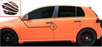 Porte latérale en fibre de carbone voiture Bord de protection Protection Guarder Autocollants Pour AUDI A1 A3 A4 A5 A6 Q2 Q3 Q5 Q7 Car Styling