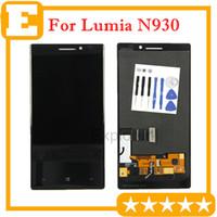 1PCS / Lot ursprüngliche neue für Nokia Lumia N930 930 LCD-Display + Touch Screen Digitizer Montag Glaslinse Ersatzteil Kostenlose Tools