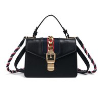 designer leather handbags women bag fringe Twisted shoulder ...