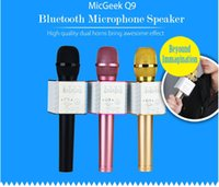 1pcs Magic Q9 Bluetooth Wireless Microphone Handheld Microfo...