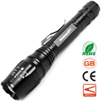 Масштабируемые светодиодный фонарик CREE XML T6 высокой мощности Olight 18650 аккумуляторная увеличить фонарик кемпинг портативный свет на открытом воздухе Велоспорт Факел свет