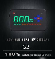 Car Universal GPS HUD Head Up Display 3. 5 inch Focus on Spee...