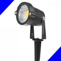 IP67 في الهواء الطلق المناظر الطبيعية LED حديقة ضوء مصباح 220V 110V 5W 7W COB حديقة بقعة ضوء سبايك توفير الطاقة CE بنفايات