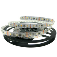 24v / 12V RGBW LED tira 5050 Luz LED flexible RGW / RGBWW 4 colores en 1 LED Chip 60 LED / m 5m / lot.