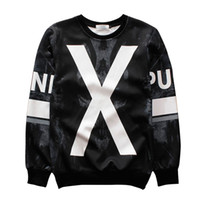 Gros-Raisevern harajuku hipster 3D sweat hommes hoodie fitness sportswear vêtements à manches longues occasionnels tops 21 styles dropship