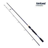 Fairiland المحمولة عالية ألياف الكربون الغزل قضيب 1.98 متر 2.1 متر الكربون إغراء قصبة الصيد باس الصيد القطب جودة عالية إغراء الصيد التبعي