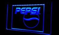 Ls262-b Pepsi Cola Logo Bebida Decor Neon Light Sign