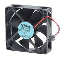 Original ABB conversión de frecuencia Nidec ventilador de refrigeración D08A-24TU 80 * 80 * 25 06 DC 0.11A 24V 2 hilos