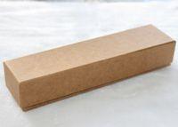 여성 쥬얼리 [간단한 세븐] 고품질 무지 목걸이의 보석 상자 / 팔찌 포장 / 선물 포장 / 롱 크래프트 종이 디스플레이