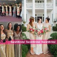 Exqusite Sparkly Sequins Bridesmaid Dresses 2016 Sorella Vit...