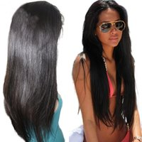 Full Lace Straight Human Hair Wig 10- 26 inch In Stock Brazil...