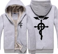 Fullmetal Alchemist Hoodie Jacket Men' s Casual Coat Thi...