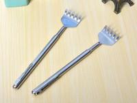 새로운 실용 핸디 스테인레스 펜 클립 뒤로 Scratcher 텔레스코픽 포켓 긁적 마사지 키트