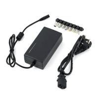 Chargeur universel pour ordinateur portable pour ordinateur portable Adaptateur secteur Chargeurs externes 96 W Tension réglable 12-24v pour HP DELL IBM Lenovo ThinkPad